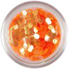 Hexagon portocaliu - elemente aqua