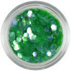 Hexagon verde - elemente aqua