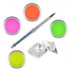 Set Neon - set de pudre acrilice colorate