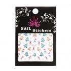 Stickere pentru unghii cu motive de Crăciun