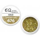 676 - Gel Extra Quality Spider - GOLD, 5g