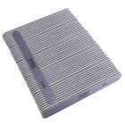 50buc - Pilă de unghii, gri cu centru negru, lavabilă și dezinfectantă 280/280