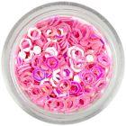 Paiete - hexagoane roz deschis, cu gol în mijloc